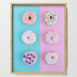 Donut Color Pop Serving Tray