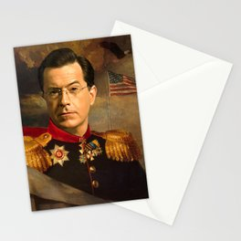 Stephen Colbert 19th Century Classical Painting Stationery Cards