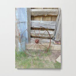 The New Old West Metal Print