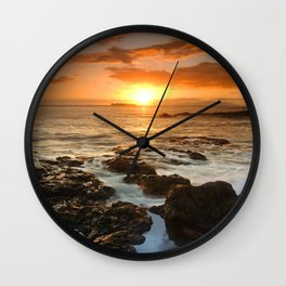 Maui Sunset Wall Clock