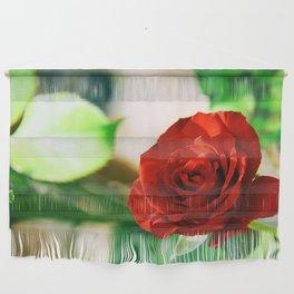 red rose Wall Hanging