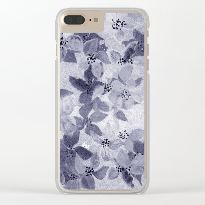 hideaway for tiny creatures Clear iPhone Case
