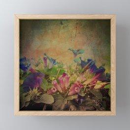 Flowers have music for those who will listen Framed Mini Art Print