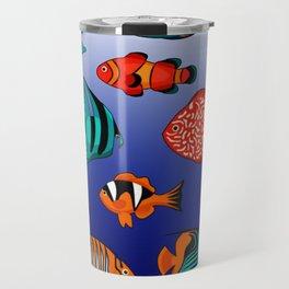 Peces tropicales Travel Mug