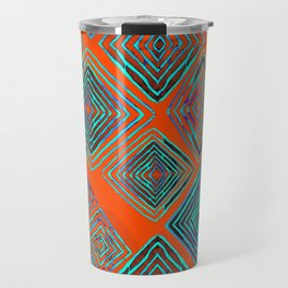 Ratty Diamonds  Travel Mug