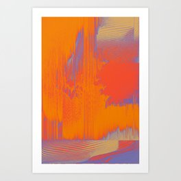 Over Cooked Art Print
