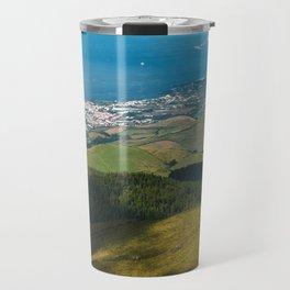 Sao Miguel island Travel Mug
