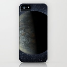 675. Kepler-20f -- An Earth-size World Artist Concept iPhone Case