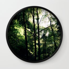 Inside the Cave Wall Clock