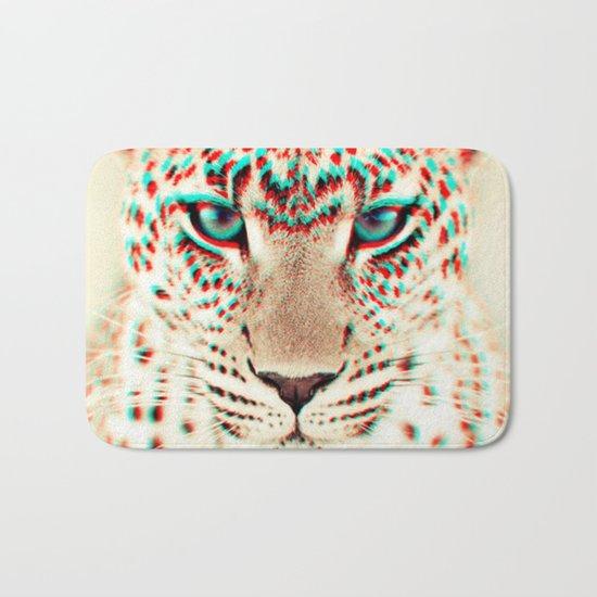 leopard 3D Bath Mat