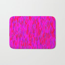 red purple verticals Bath Mat