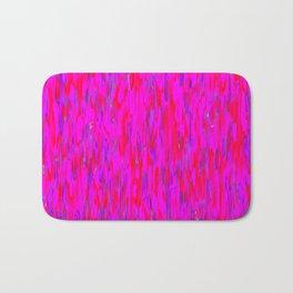 red purple verticals Bath Mat
