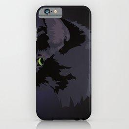 Black Cat Magic iPhone Case