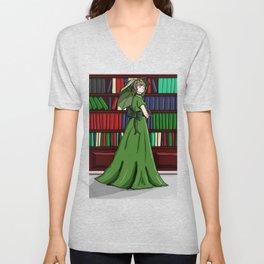 Librarian Unisex V-Neck