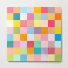 Candy colors Metal Print