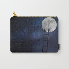 Moon up Carry-All Pouch