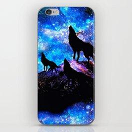 Wolf Trio iPhone Skin