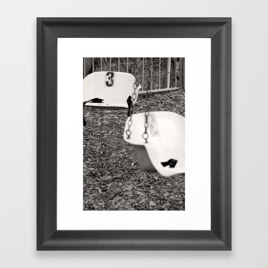 Swing # 3 Framed Art Print