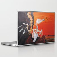 meat Laptop & iPad Skins featuring Meat Welding by Lázaro Hurtado Art