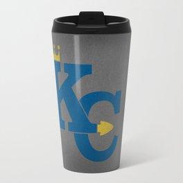 Kansas City Sports Blue Travel Mug
