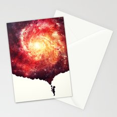 The universe in a soap-bubble! Stationery Cards