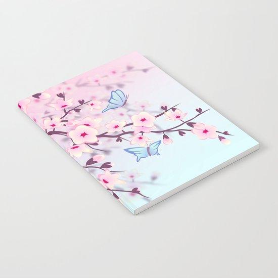Cherry Blossom Landscape by ninabaydur