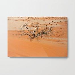 NAMIBIA ... Namib Desert Sandstorm Metal Print