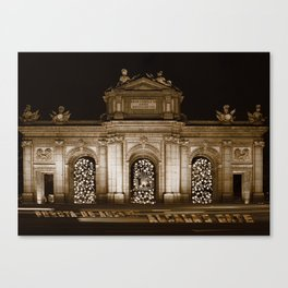 Alcala's Gate V WH Canvas Print