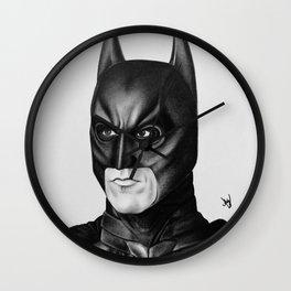 The Bat Drawing Wall Clock
