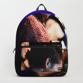 Birds in the Boneyard, Print 18: The Nested Backpack