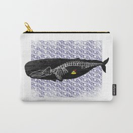 Whale anatomy Carry-All Pouch
