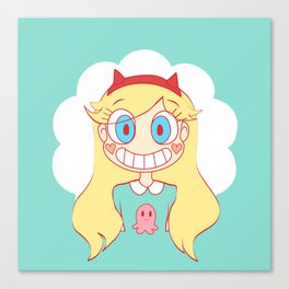 stars vs the forces of evil Canvas Print
