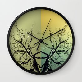 Unknown Ghost of the Forest Wall Clock