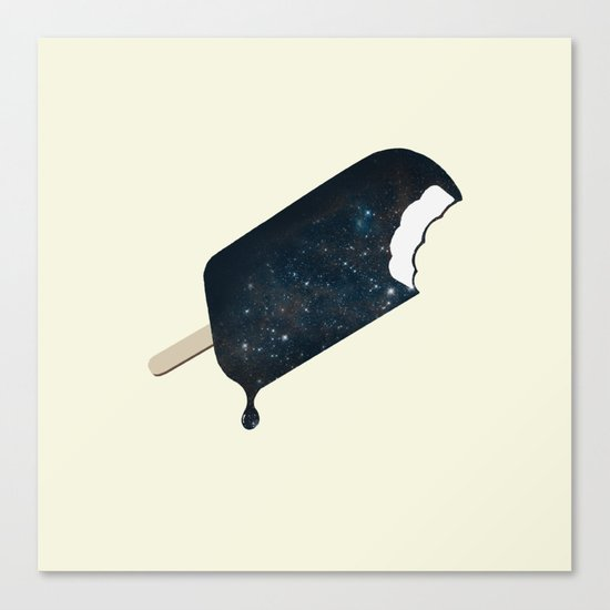 Space Melter Canvas Print