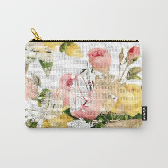 Frozen roses Carry-All Pouch
