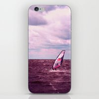 surfer iPhone & iPod Skins featuring surfer by Claudia Drossert