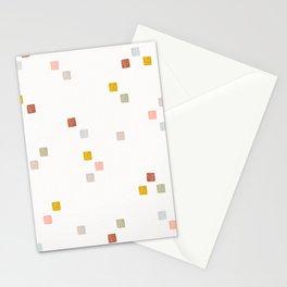 Mosaic Tiles Geometric Print Stationery Cards