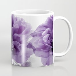 Three Roses In A Row Coffee Mug