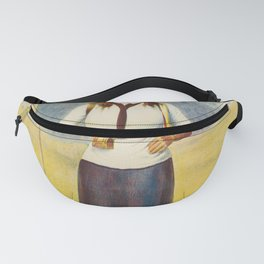 altes Plakat polly the girl scout. 1911 Fanny Pack