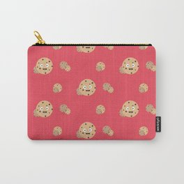 Smiling Chocolate Chips Cookies Pattern Carry-All Pouch