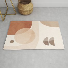 Abstract Minimal Shapes 16 Rug