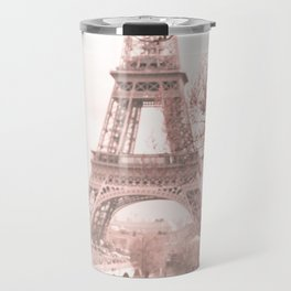 Paris Nursery, White, Eiffel Tower Travel Mug