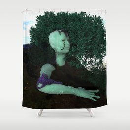 Gaia's Portrait Shower Curtain