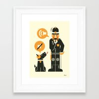 obey Framed Art Prints featuring Obey ... by AQ studio