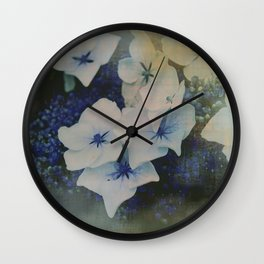 Hydrangea photo Wall Clock