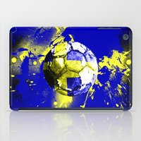 sweden iPad Cases featuring football Sweden  by seb mcnulty
