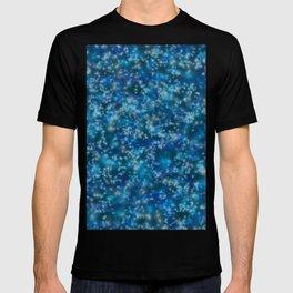 Blue Twinkling Fairy Lights T-shirt