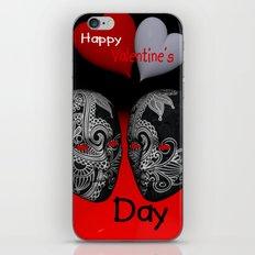 Happy Valentine's Day! -3- iPhone & iPod Skin
