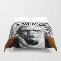 beethoven Duvet Covers featuring Beethoven by Ed Pires