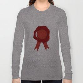 Wax Stamp Long Sleeve T-shirt